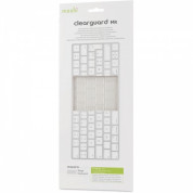 Moshi ClearGuard MK Keyboard Protector - силиконов протектор за Apple Magic Keyboard (прозрачен) (EU layout) 2