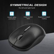 TeckNet M016 Wireless Mouse - ергономична безжична мишка (за Mac и PC) 4
