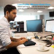 Tecknet Office Slim X300 V3 2.4G  - комплект устойчива на течности клавиатура и безжична мишка за офиса (черен) 6