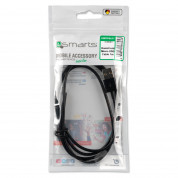 4smarts Basic Micro-USB Data Cable BasicCord 1m - компактен microUSB кабел с (100 см)(черен) 2