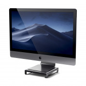 Satechi USB-C Aluminium Monitor Stand Hub for iMac (space gray)
