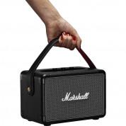 Marshall Kilburn II - безжичен портативен аудиофилски спийкър за мобилни устройства с Bluetooth и 3.5 mm изход (черен) 3