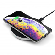 Satechi Wireless Charging Pad v2 Fast Charge (silver) 1