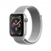 Apple Watch Series 4, 44mm Silver Aluminum Case with Seashell Sport Loop - умен часовник от Apple