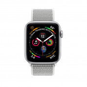 Apple Watch Series 4, 44mm Silver Aluminum Case with Seashell Sport Loop - умен часовник от Apple 1