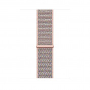 Apple Watch Series 4, 40mm Gold Aluminum Case with Pink Sand Sport Loop  - умен часовник от Apple 2