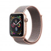Apple Watch Series 4, 40mm Gold Aluminum Case with Pink Sand Sport Loop  - умен часовник от Apple