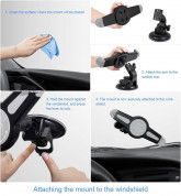 Universal Tablet Car Mount for tablets up to 11 inches 4