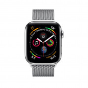 Apple Watch Series 4, 44mm Stainless Steel Case with Milanese Loop, GPS + Cellular - умен часовник от Apple 1