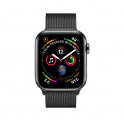 Apple Watch Series 4, 44mm Space Black Stainless Steel Case with Milanese Loop, GPS + Cellular - умен часовник от Apple 1