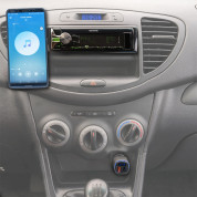4smarts Media Assist Car Charger with FM Transmitter and Media-In - зарядно за кола (Quick Charge) с трансмитер, MicroSD карта и дисплей (черен) 5