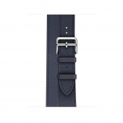Apple Watch Hermès Series 4, 40mm Stainless Steel Case with Indigo Swift Leather Double Tour, GPS + Cellular - умен часовник от Apple 2