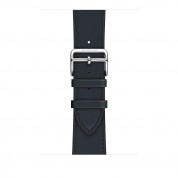 Apple Watch Hermès Series 4, 44mm Stainless Steel Case with Indigo Swift Leather Single Tour, GPS + Cellular - умен часовник от Apple 3