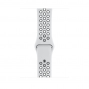Apple Watch Nike+ Series 4, 44mm Silver Aluminum Case with Pure Platinum/Black Nike Sport Band, GPS - умен часовник от Apple 2