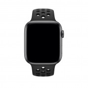 Apple Watch Nike+ Series 4, 44mm Space Gray Aluminum Case with Anthracite/Black Nike Sport Band, GPS + Cellular - умен часовник от Apple 1