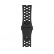 Apple Watch Nike+ Series 4, 44mm Space Gray Aluminum Case with Anthracite/Black Nike Sport Band, GPS + Cellular - умен часовник от Apple 2