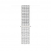 Apple Watch Nike+ Series 4, 44mm Silver Aluminum Case with Summit White Nike Sport Loop, GPS + Cellular - умен часовник от Apple 2