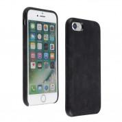 Foxwood Genuine Leather Hardshell Case - кожен кейс (естествена кожа) за iPhone 8, iPhone 7 (черен) 4