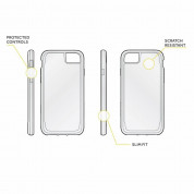 Griffin Survivor Clear Case - хибриден удароустойчив кейс за iPhone 8, iPhone 7, iPhone 6S, iPhone 6 (прозрачен) 2