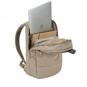 Incase City Compact Backpack - елегантна и стилна раница за MacBook Pro 15 и лаптопи до 15 инча (златист) 6