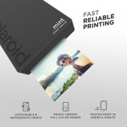 Polaroid Mint Pocket Printer Zink Zero Ink Technology with Built-In Bluetooth for Android & iOS Devices (black) 3