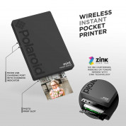 Polaroid Mint Pocket Printer Zink Zero Ink Technology with Built-In Bluetooth for Android & iOS Devices (black) 4