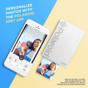 Polaroid Mint Pocket Printer Zink Zero Ink Technology with Built-In Bluetooth for Android & iOS Devices (white) 4