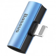 Baseus Double Lightning Adapter L46 (blue)
