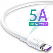 Baseus Double Ring Quick Charge USB-C Cable (200 cm) (white) 1