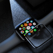Baseus Curved Screen Tempered Glass Screen Protector for Apple Watch 42 mm (black) 4