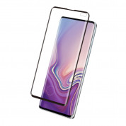 Eiger 3D Glass Edge to Edge Full Screen Tempered Glass for Samsung Galaxy S10 Plus (black-clear) 1