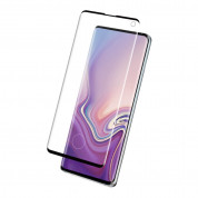 Eiger 3D Glass Case Friendly Curved Tempered Glass for Samsung Galaxy S10 (black-clear) 1