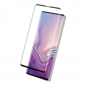 Eiger 3D Glass Case Friendly Curved Tempered Glass for Samsung Galaxy S10 Plus (black-clear) 1