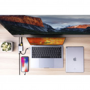 HyperDrive 3-in-1 USB-C Hub for MacBook, Ultrabook, Chromebook & USB-C devices (silver) 1