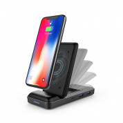 HyperDrive 7.5W Wireless Charger USB-C Hub (black) 2