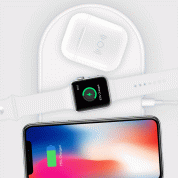 Hyper HyperJuice Wireless Charger Case - кейс за безжично зареждане на Apple Airpods (бял) 6