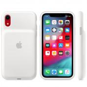 Apple Smart Battery Case - оригинален кейс с вградена батерия за iPhone XR (бял) 1