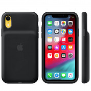 Apple Smart Battery Case - оригинален кейс с вградена батерия за iPhone XR (черен) 1