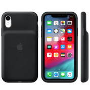 Apple Smart Battery Case - оригинален кейс с вградена батерия за iPhone XR (черен) 2