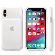 Apple Smart Battery Case - оригинален кейс с вградена батерия за iPhone XS (бял) 1