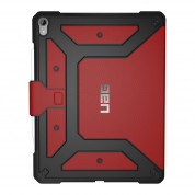 Urban Armor Gear Metropolis Folio Case - удароустойчив хибриден кейс от най-висок клас за iPad Pro 12.9 (2018) (червен) 3