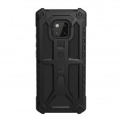 Urban Armor Gear Monarch Case - удароустойчив хибриден кейс за Huawei Mate 20 Pro (черен) 1