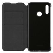 Huawei Flip Cover Case - оригинален кожен калъф за Huawei P Smart (2019) (черен) 4