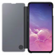 Samsung Clear View Cover EF-ZG970CB for Galaxy S10E (black) 2