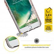 Griffin Survivor Clear Case for iPhone 8, iPhone 7, iPhone 6S, iPhone 6 (black) 4