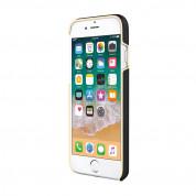 Kate Spade Wrap Glitter Stripe Case - удароустойчив хибриден кейс за iPhone 8, iPhone 7 (черен) 5