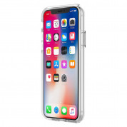 Incipio DualPro Case - удароустойчив хибриден кейс за iPhone XS, iPhone X (прозрачен) 2