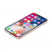 Incipio Feather Case - тънък поликарбонатов кейс за iPhone XS, iPhone X (розов) 2