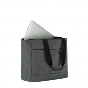 Incase City Market Tote - елегантна чанта за MacBook Pro 13 и лаптопи до 13 инча (тъмносив) 1