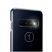Samsung LED Cover EF-KG975CW - оригинален заден кейс, през който виждате информация от Samsung Galaxy S10 Plus (бял) 6